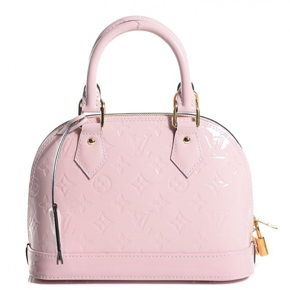 591c24f07000 Louis Vuitton Handbags - Louis Vuitton Alma BB Vernis Rose Ballerine